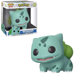 Funko Pop! Games: Pokemon - Bulbasaur 10 Inch (Target Exclusive) #454 - Popu!ar Collectibles