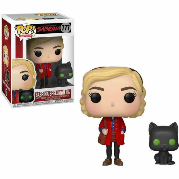 Funko Pop! Television: Sabrina - Sabrina Spellman and Salem #777 - Popu!ar Collectibles