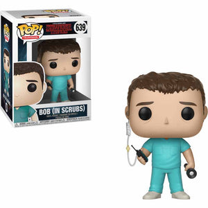Funko Pop! Television: Stranger Things - Bob (In Scrubs) #639 - Popu!ar Collectibles