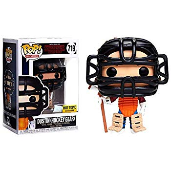 Funko Pop! Television: Stranger Things - Dustin in Hockey Gear (Hot Topic Exclusive) #719 - Popu!ar Collectibles