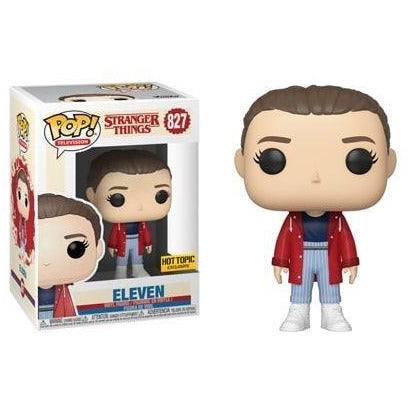 Funko Pop! Television: Stranger Things - Eleven (Hot Topic) #827 - Popu!ar Collectibles