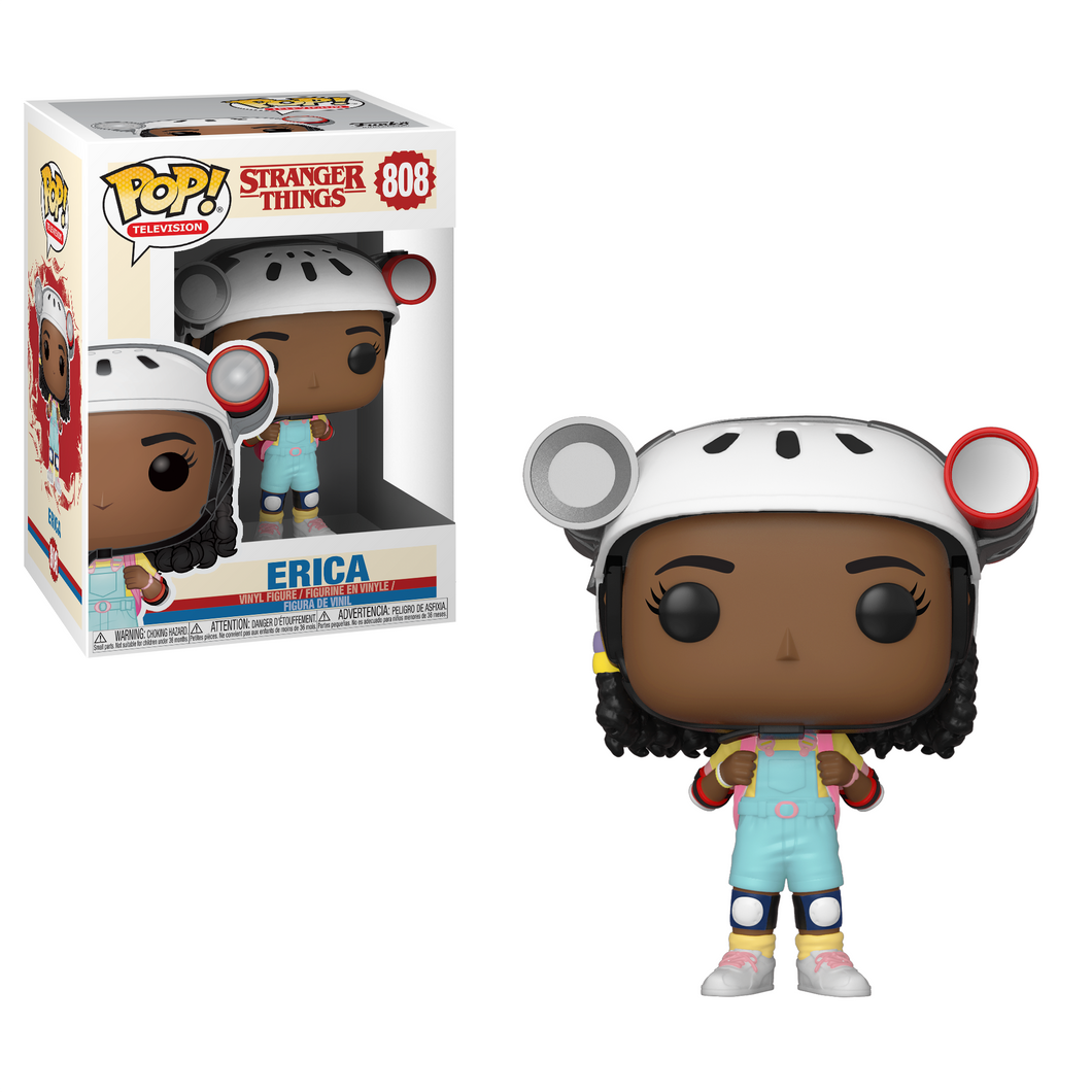 Funko Pop! Television: Stranger Things - Erica #808 - Popu!ar Collectibles