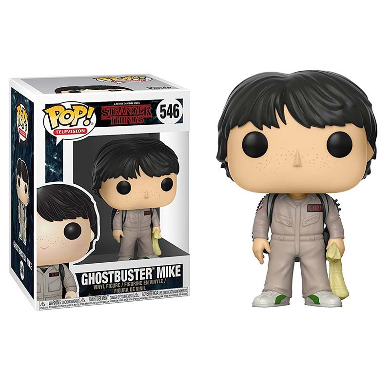 Funko Pop! Television: Stranger Things - Ghostbuster Mike #546 - Popu!ar Collectibles