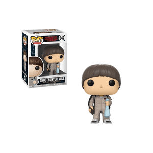 Funko Pop! Television: Stranger Things - Ghostbuster Will #547 - Popu!ar Collectibles