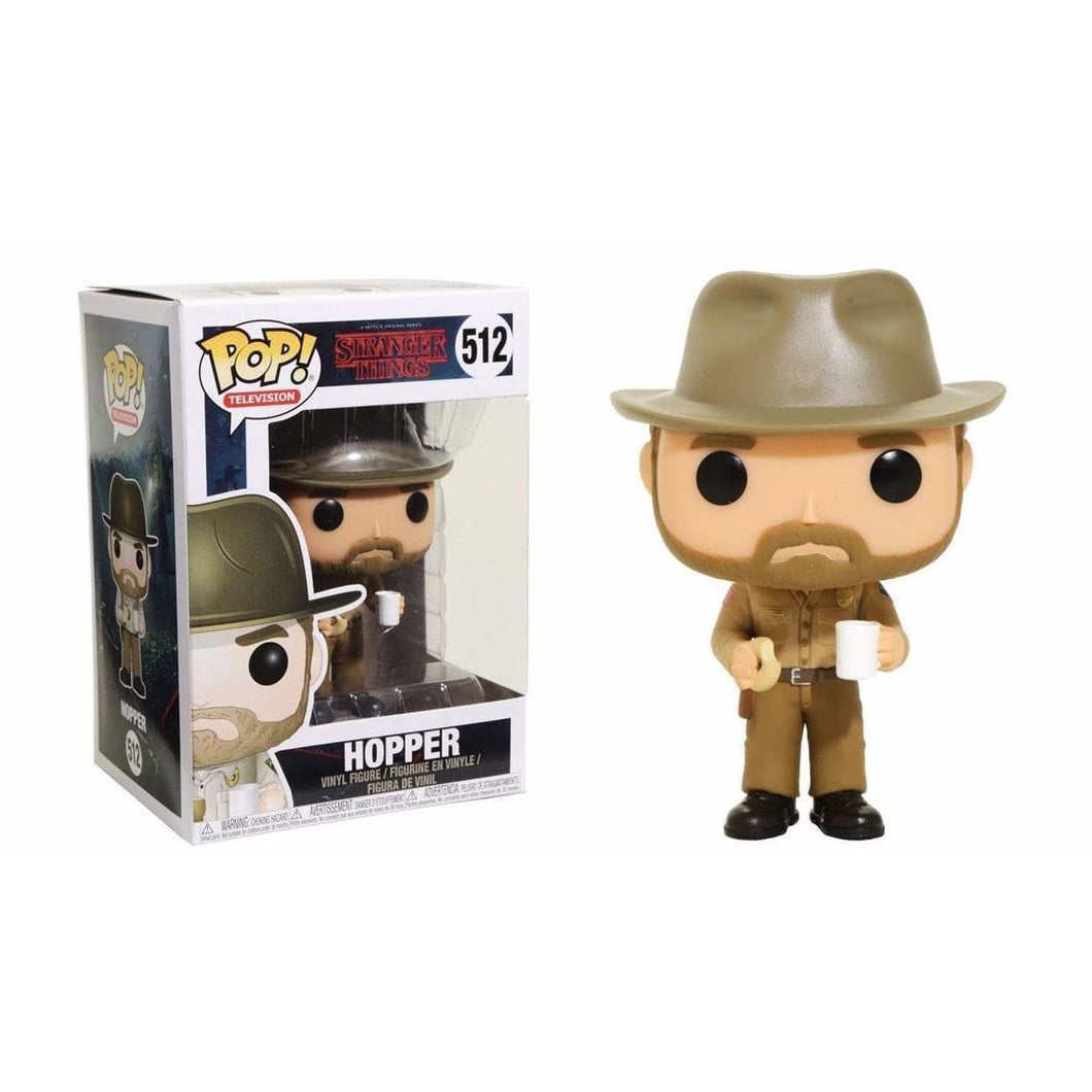 Funko Pop! Television: Stranger Things - Hopper #512 - Popular Collectibles | Popu!ar Collectibles