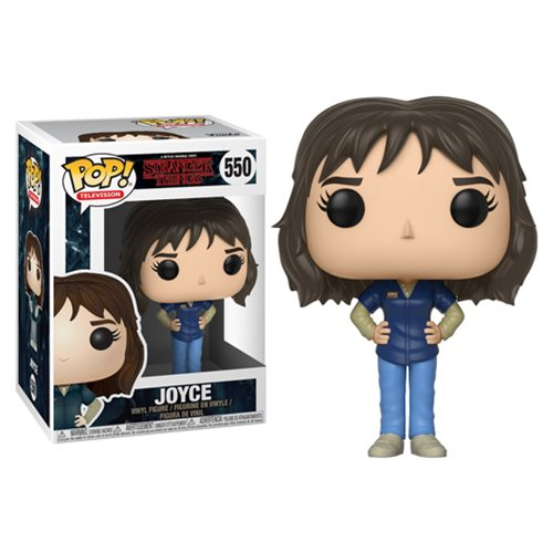 Funko Pop! Television: Stranger Things - Joyce #550 - Popu!ar Collectibles