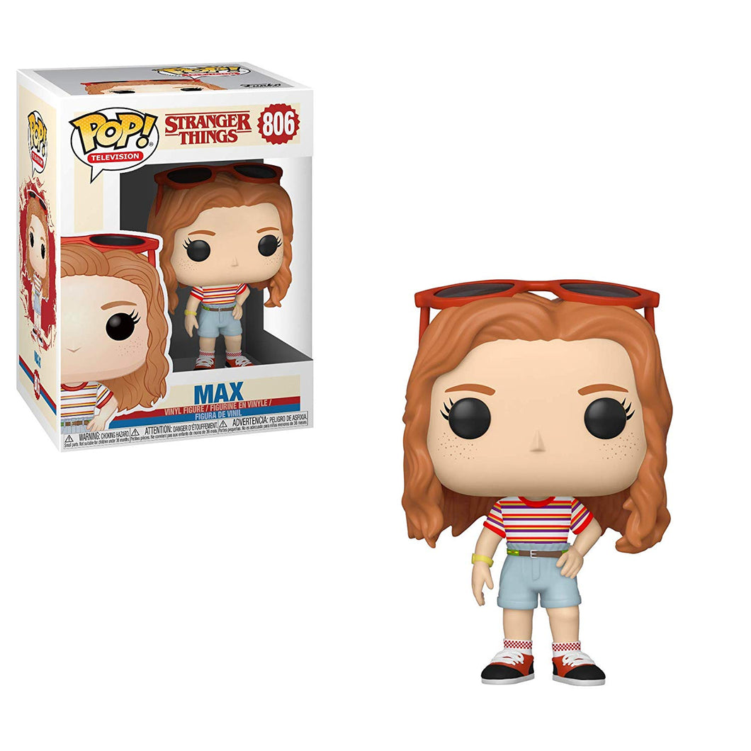 Funko Pop! Television: Stranger Things - Max #806 - Popular Collectibles | Popu!ar Collectibles