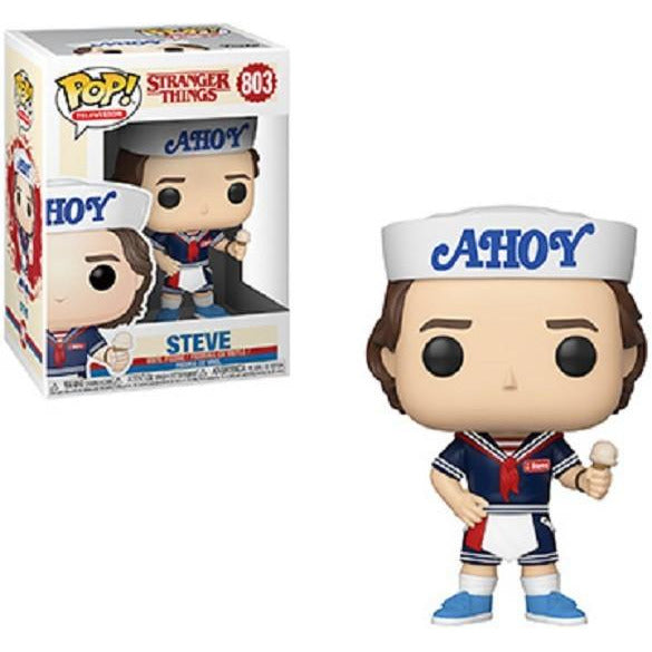 Funko Pop! Television: Stranger Things - Steve #803 - Popu!ar Collectibles