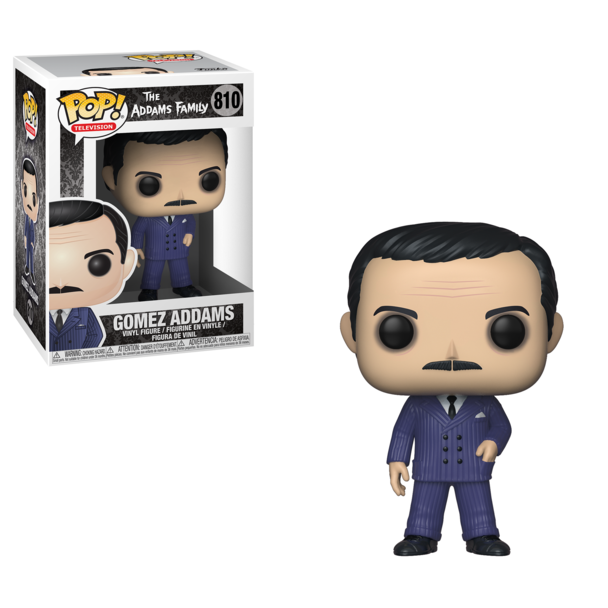 Funko Pop! Television: The Addams Family - Gomez Addams #810 - Popu!ar Collectibles
