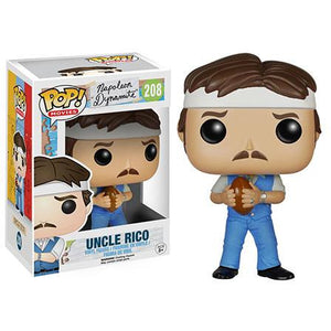 Funko Pop! Movies: Napoleon Dynamite - Uncle Rico #208 - Popu!ar Collectibles