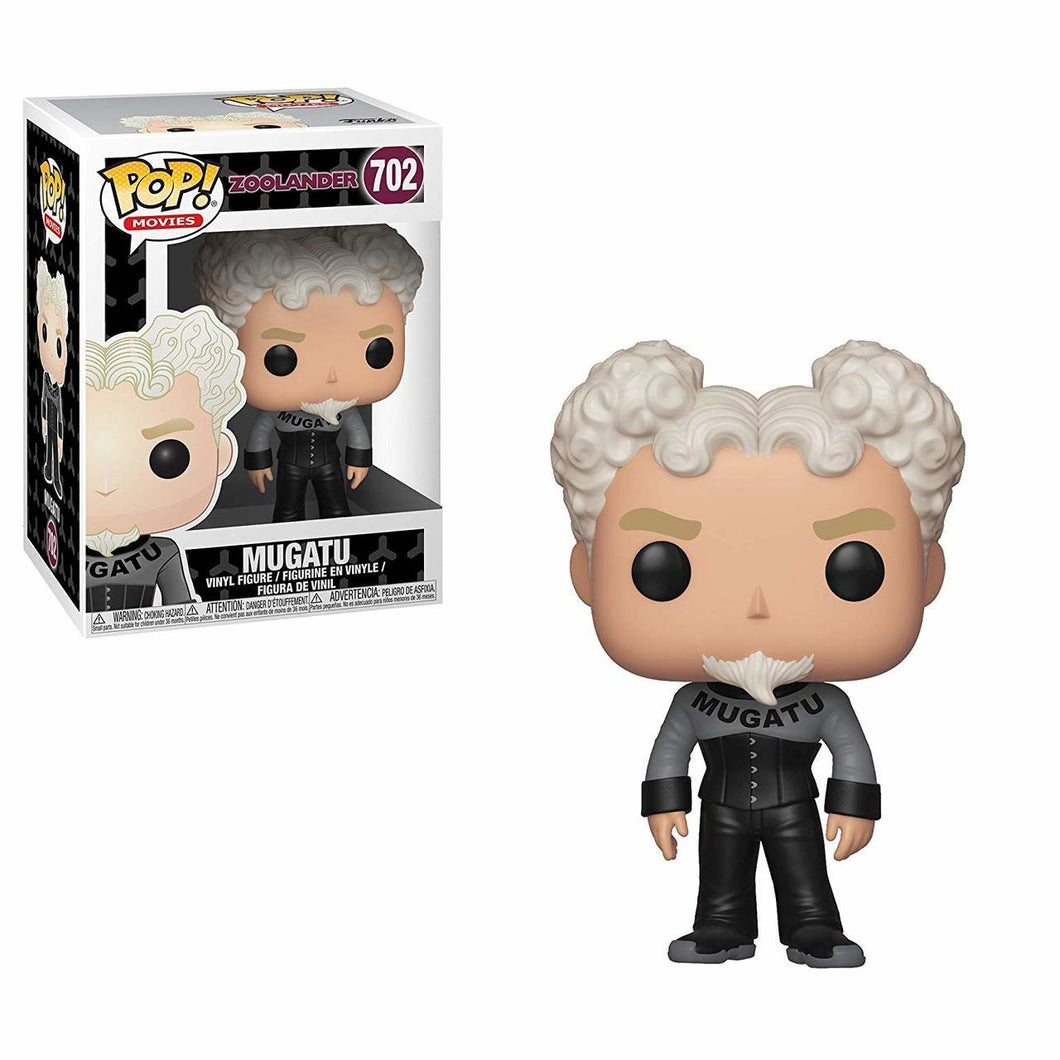 Funko Pop! Movies: Zoolander - Mugatu #702 - Popu!ar Collectibles