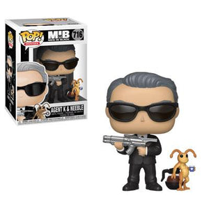 Funko Pop! Movies: Men in Black - Agent K & Neeble #716 - Popu!ar Collectibles