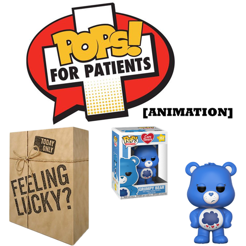 POPS! For Patients Mystery Box (Animation) - Donation - Popu!ar Collectibles