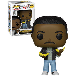 Funko Pop! Movies: Beverly Hills Cop - Axel Foley (Mumford) #737 - Popu!ar Collectibles