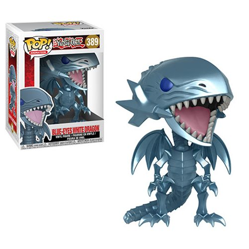 Funko Pop! Animation: Yu-Gi-Oh - Blue Eyes White Dragon #389 - Popu!ar Collectibles