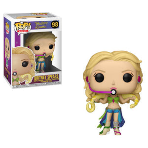 Funko Pop! Rocks: Britney Spears (Slave 4 U) #98 - Popu!ar Collectibles