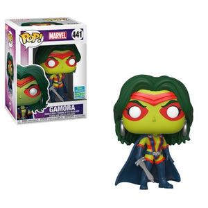 Funko Pop! Marvel: Gamora (Comics) (SDCC) #441 - Popular Collectibles | Popu!ar Collectibles