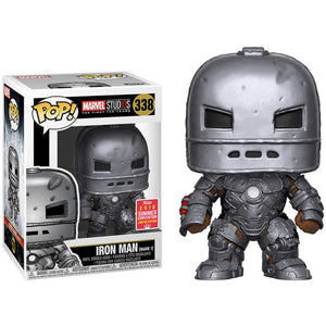 Funko Pop! Marvel: Iron Man (Mark 1) (Summer Convention Limited Edition) #338 - Popu!ar Collectibles