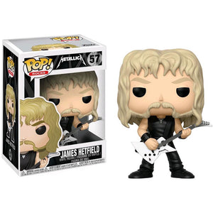 Funko Pop! Rocks: Metalica - James Hetfield #57 - Popu!ar Collectibles