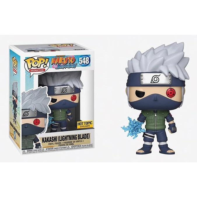 Funko Pop! Animation: Naruto - Kakashi Lightning Blade (Hot Topic Exclusive) #548 - Popular Collectibles | Popu!ar Collectibles