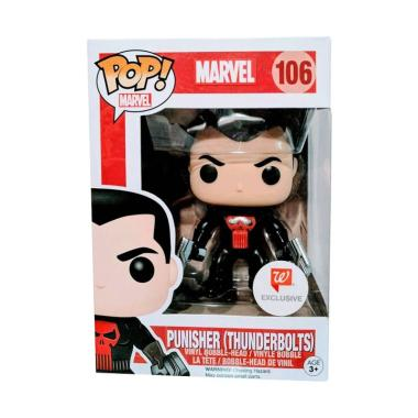 Funko Pop! Marvel: Punisher (Thunderbolts) (Walgreens Exclusive) #106 - Popu!ar Collectibles