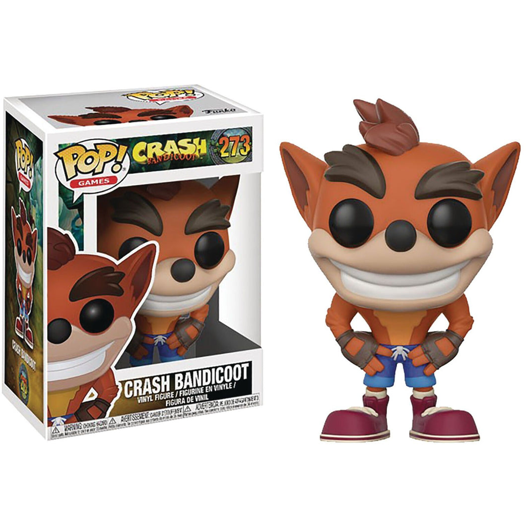 Funko Pop! Games: Crash Bandicoot #237 - Popu!ar Collectibles