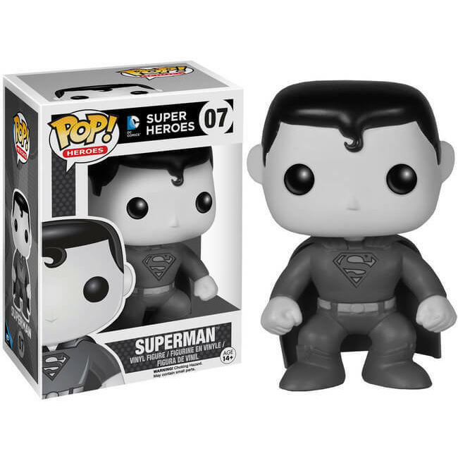 Funko Pop! Heroes: Superman (Hot Topic Exclusive) #07 - Popu!ar Collectibles