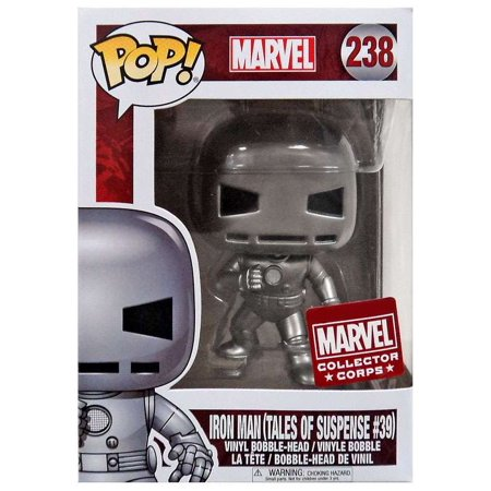 Funko Pop! Marvel: Iron Man (Tales of Suspense 39) (Marvel Corps Exclusive) #238 - Popular Collectibles | Popu!ar Collectibles
