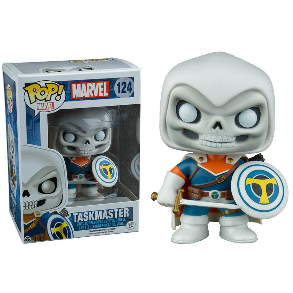 Funko Pop! Marvel: Taskmaster (Walgreens Exclusive) #124 - Popu!ar Collectibles