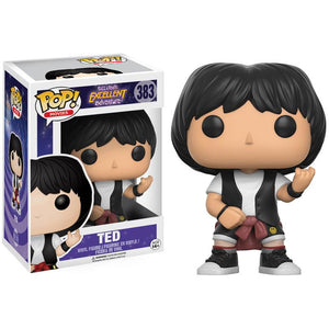 Funko Pop! Movies: Bill and Ted's Excellent Adventure - Ted #383 - Popu!ar Collectibles