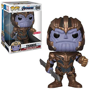 Funko Pop! Marvel: Avengers: Endgame - 10 inch Thanos (Target Exclusive) #460 - Popu!ar Collectibles