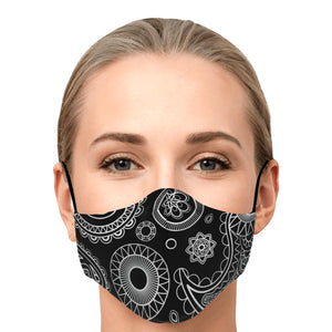"The ""Celine"" Custom Printed Face Mask"