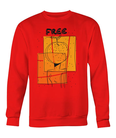 """Free"" Crew Neck Sweatshirt"