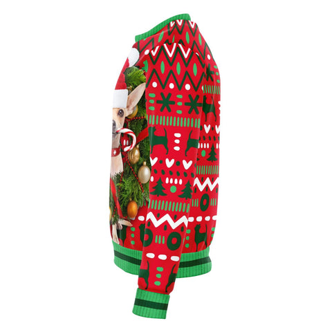 Image of Chihuahua Ugly Xmas Sweater