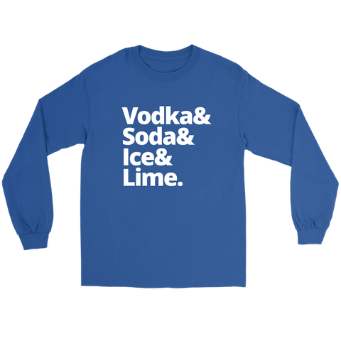 Image of Vodka & Soda & Ice & Lime