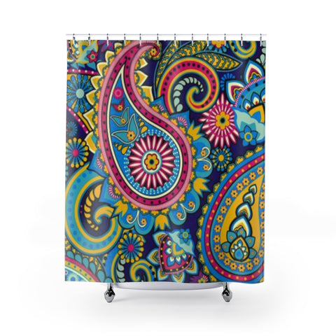 "Image of The ""Karina"" Shower Curtain"