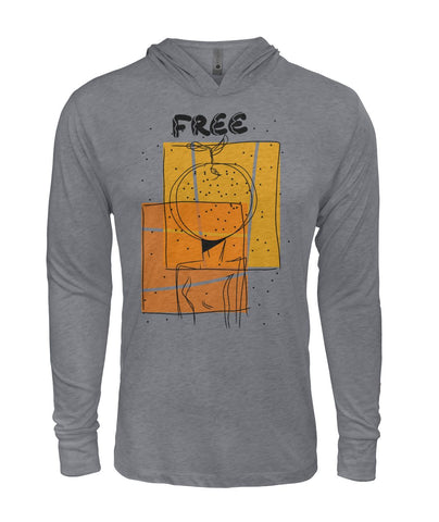 """Free""  Hooded Long Sleeve"