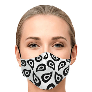 "The ""Elise"" Custom Printed Face Mask"