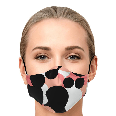 "Image of The ""Monica"" Custom Printed Face Mask"