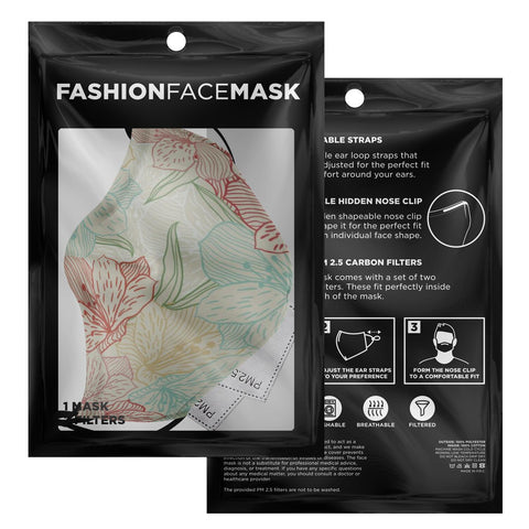"Image of The ""Lola"" Custom Printed Face Mask"