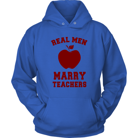 Image of Real Men Marry Teachers shirt