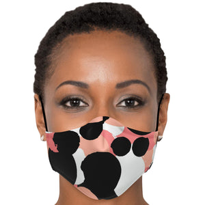 "The ""Monica"" Custom Printed Face Mask"