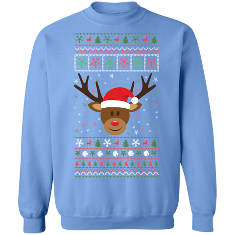 Image of Rudolph the red nosed Reindeer Ugly Xmas Sweater