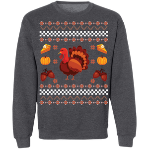 Turkey Ugly Thanksgiving Sweater