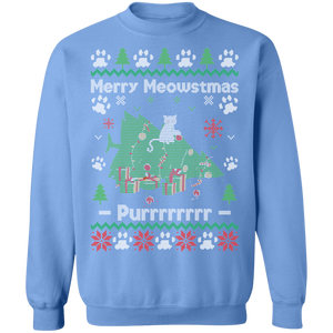 Merry Meowstmas Ugly Xmas Sweater