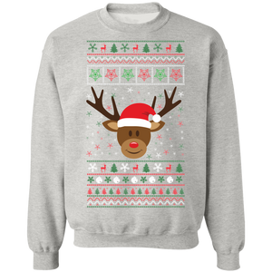 Rudolph the red nosed Reindeer Ugly Xmas Sweater