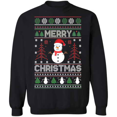 Image of Snowman Ugly Xmas Sweater