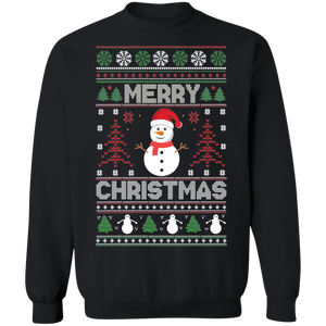 Snowman Ugly Xmas Sweater