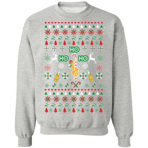 Image of Ho Ho Ho Pole Dancer Ugly Xmas Sweater