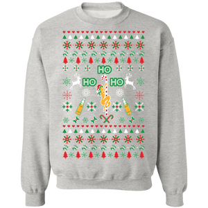 Ho Ho Ho Pole Dancer Ugly Xmas Sweater